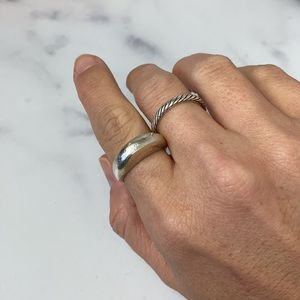 Child of Wild sterling silver dome stacker ring 7
